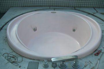 ジャグジーの浴槽をリメイクしました
