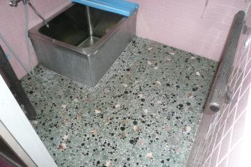 在来のタイル貼り浴室を壊さずにユニット風へ変身リフォーム